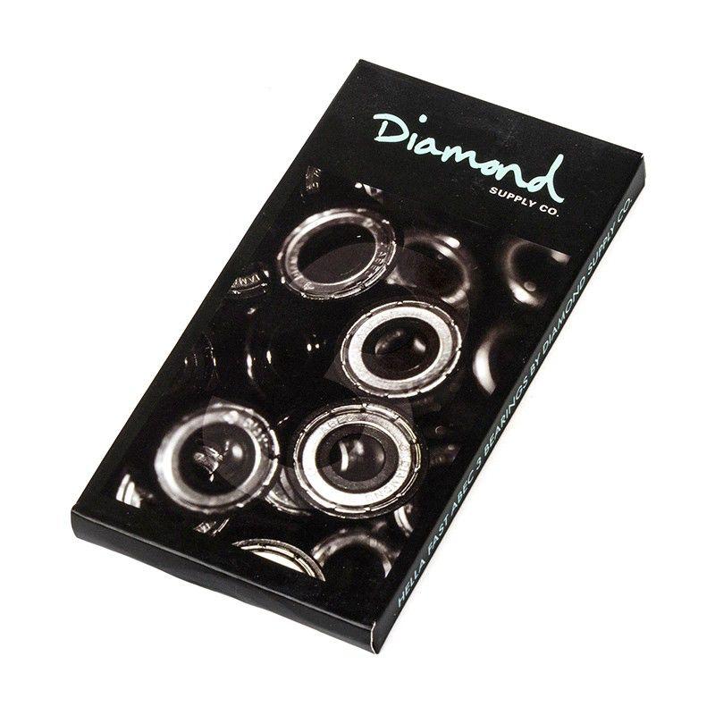 DIAMOND DIAMOND, BEARINGS, DIAMOND RINGS HELLA FAST ABEC3, DIAMOND BLUE