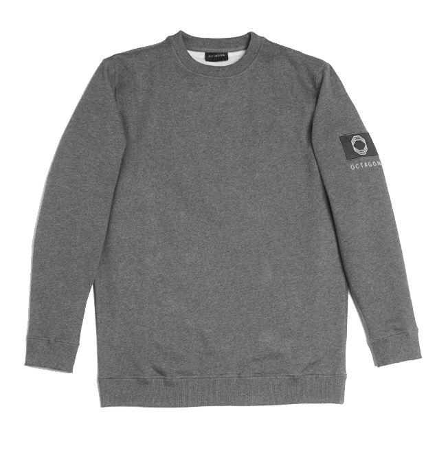 ÖCTAGON Badge Crewneck Sweatshirt