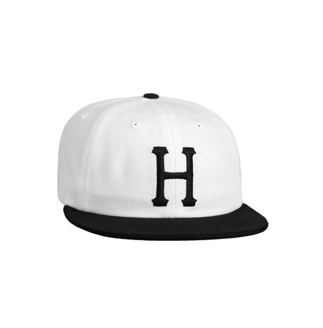 HUF HUF, CLASSIC H 6 PANEL, BLACK