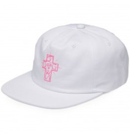 DIAMOND DIAMOND, DOGTOWN STRAPBACK, WHITE