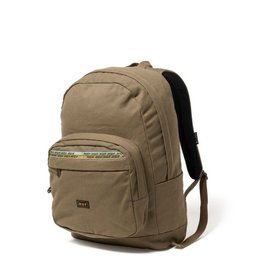 HUF HUF, CANVAS UTILITY BACKPACK, OLIVE
