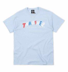 Thrasher THRASHER KNOCK-OFF S/S LIGHT BLUE
