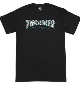 Thrasher THRASHER ROSES S/S BLACK
