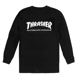 Thrasher THRASHER SKATE MAG L/S BLACK