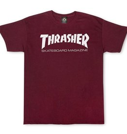 Thrasher THRASHER SKATE MAG T-SHIRT MAROON