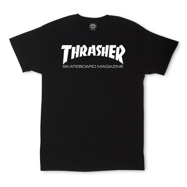 Thrasher THRASHER SKATE MAG T-SHIRT BLACK
