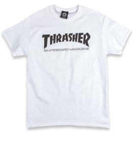 Thrasher THRASHER SKATE MAG T-SHIRT WHITE