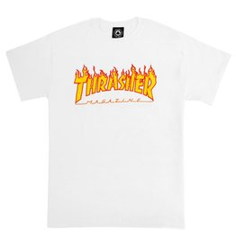 Thrasher THRASHER FLAME TSHIRT WHITE