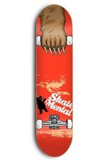 SKATE MENTAL SKATE MENTAL, DECKS, SM x GRIZZLY, MAUL GRAB, 8.25 , RED