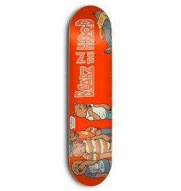 SKATE MENTAL SKATE MENTAL, DECKS, SM x GRIZZLY, BEARZ IN THE HOOD, 8.125, RED