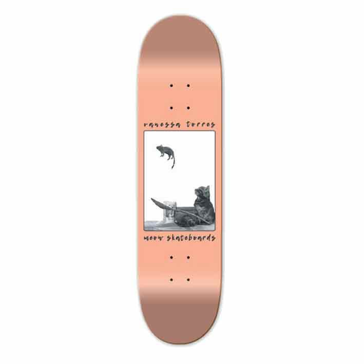 MEOW Decks Meow Skateboards Vanessa Torres Catapult 7.75