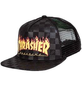 Thrasher MN VANS X THRASHER T BLACK