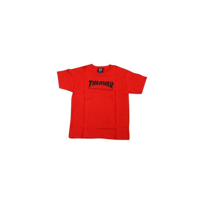Thrasher THRASHER SKATE MAG TODDLER TEE RED 5/6T