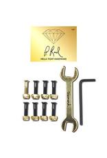 "DIAMOND DIAMOND, BOLTS, PAUL RODRIGUEZ PRO HARDWARE 7/8, GOLD"""