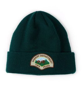 HABITAT HABITAT, APPAREL, TWIN PEAKS, Sheriff Department Embroidered Beanie