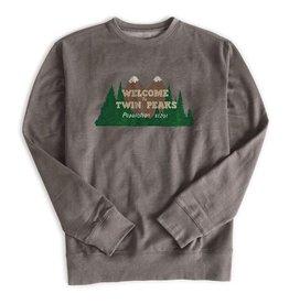HABITAT HABITAT, APPAREL, TWIN PEAKS, Welcome To Twin Peaks Crewneck