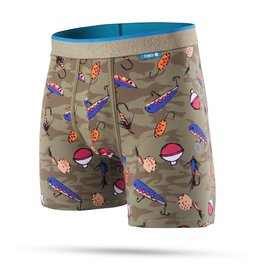 STANCE STANCE, UNDERWEAR, WHOLESTER, BAIT AND TACKLE, GREEN, S
