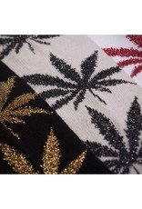 HUF HUF, TINSEL PLANTLIFE SOCK, GREY/BLACK