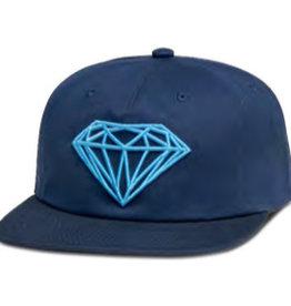 DIAMOND DIAMOND, BRILLIANT UNCONSTRUCTED SNAPBACK H17, NAVY