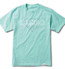 DIAMOND DIAMOND, COLLEGE TEE, DIAMOND BLUE