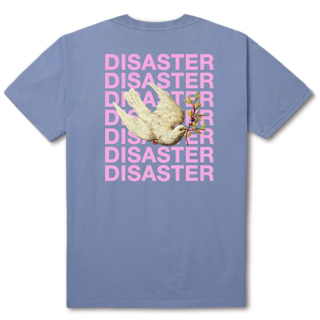 HUF HUF, DISASTER DOVE TEE, LIGHT BLUE