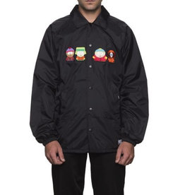 HUF HUF, SP KIDS COACHES JACKET, BLACK