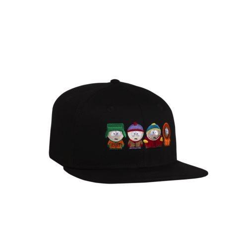 HUF HUF, SP KIDS STRAPBACK HAT, BLACK