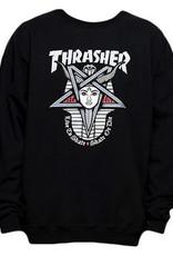 Thrasher THRASHER GODDESS CREW BLACK