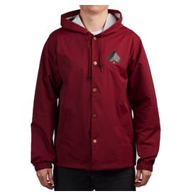 THRASHER THRASHER NEW OATH COACH JACKET CARDINAL