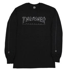 Thrasher THRASHER WEB L/S BLACK