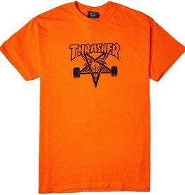 Thrasher THRASHER SKATEGOAT S/S TEE SAFETY ORANGE