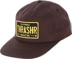 Thrasher THRASHER DMV SNAPBACK BROWN