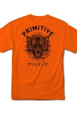 PRIMITIVE PRIMITIVE, TIGER TEE, ORANGE