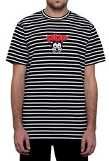 HUF HUF, FELIX STRIPED S/S TEE, BLACK