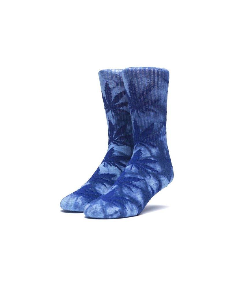 HUF HUF, TIEDYE PLANTLIFE SOCKS, BLUE