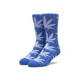 HUF HUF, GRID PLANTLIFE SOCKS, BLUE/WHITE