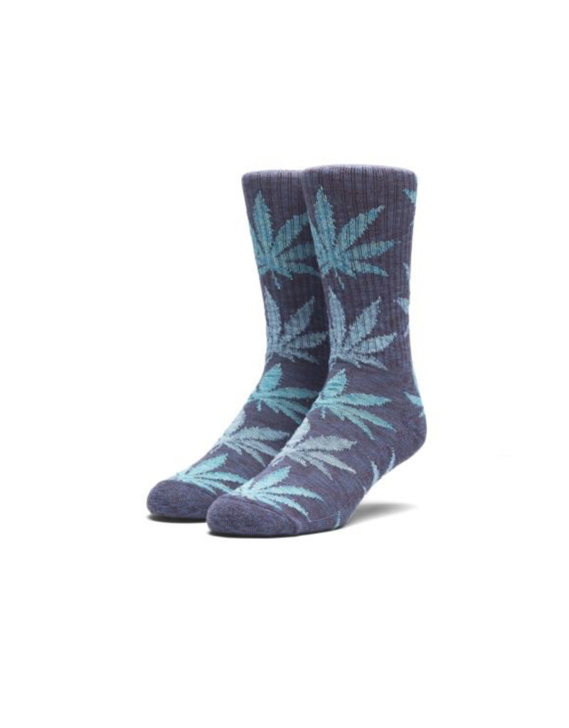 HUF HUF, FULL MELANGE PLANTLIFE SOCKS, NAVY
