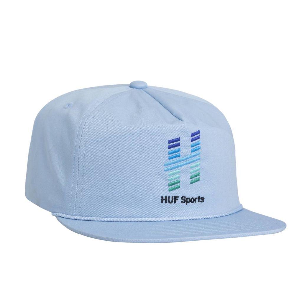 HUF HUF, NETWORK SNAPBACK, LIGHT BLUE