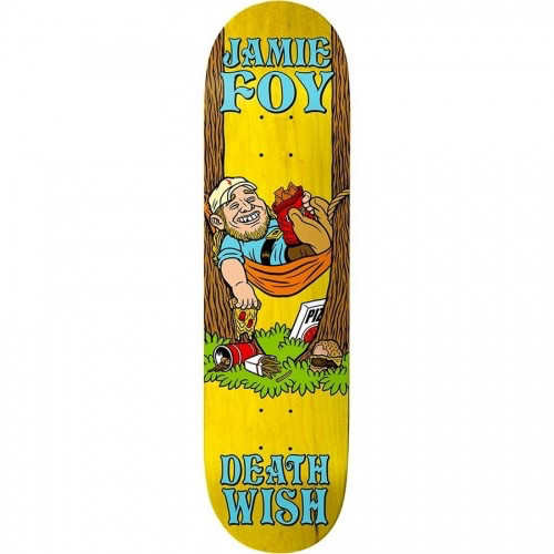 DEATHWISH Jamie Foy Happy Place Deck <br /> Yellow Stain 8.0