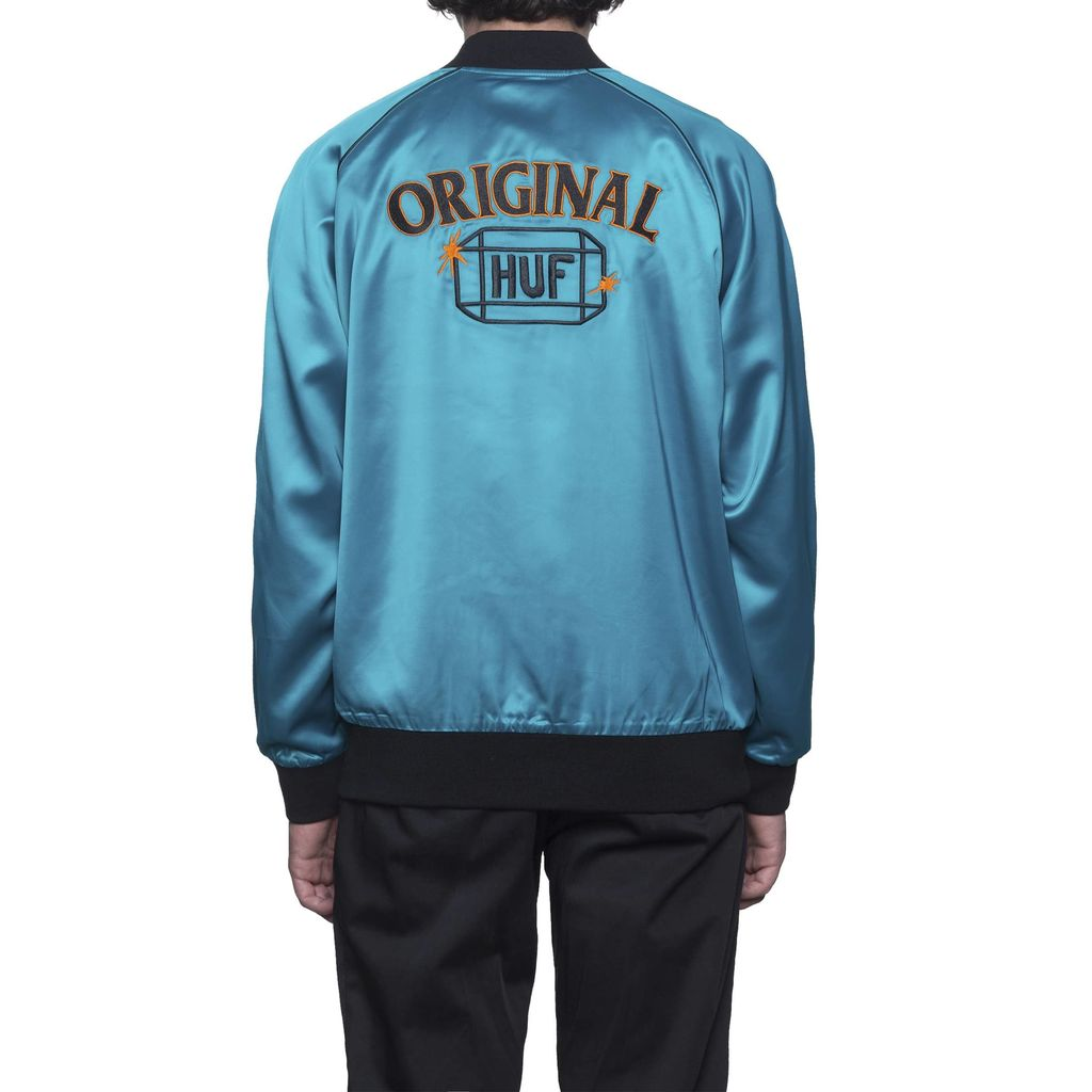 HUF HUF, CABBIE SATIN JACKET