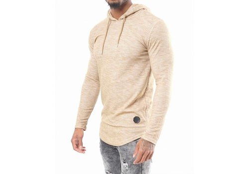 Project X Paris LONG-SLEEVED HOODED TEE SHIRT VR