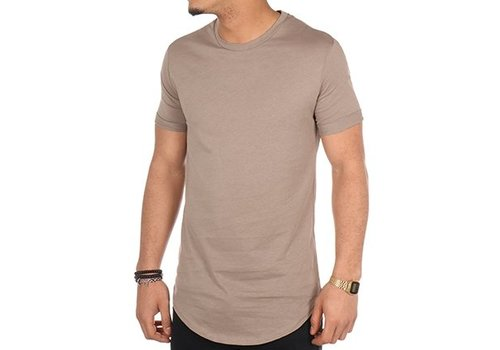 VIP-clothing OVERSIZED T-SHIRT VIP-CLOTHING TAUPE