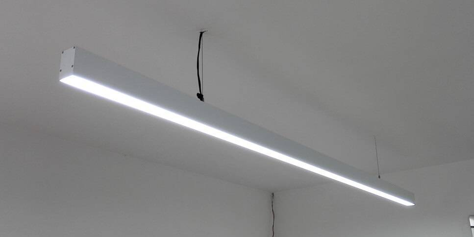 led pendelverlichting 150cm 48w met 5280 lumen. Black Bedroom Furniture Sets. Home Design Ideas