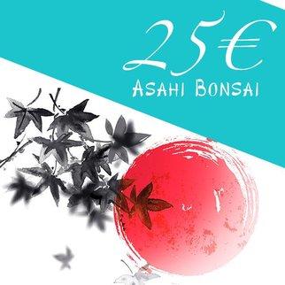 Bonsai Gutschein 25€