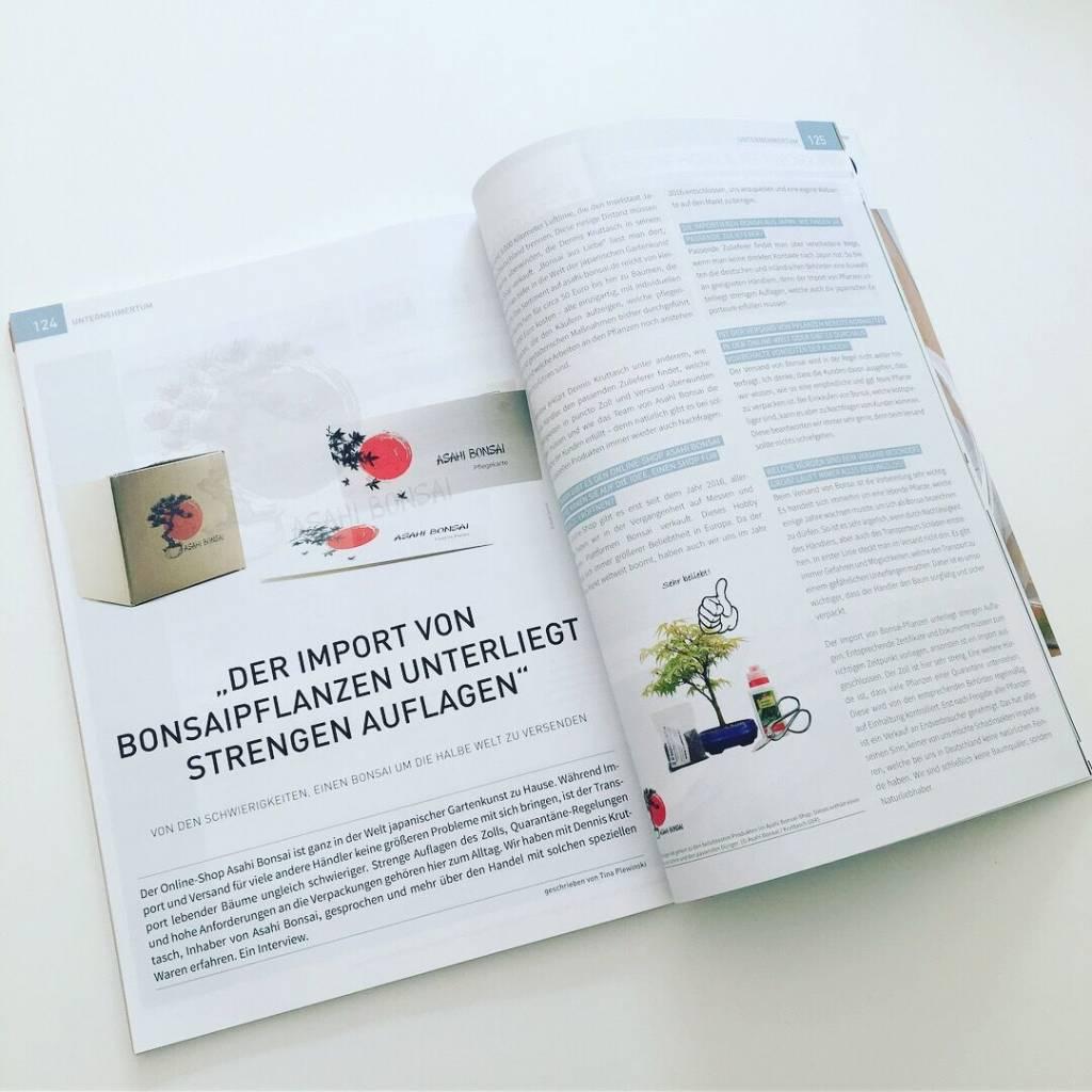 Interview für das Onlinehändlermagazin.