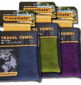 Travelsafe Reishandoek microvezel groen S
