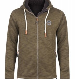 Life Line Hakan Mens Fleece Jacket Olive
