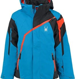 Spyder Challenger Boy's Jacket Blue Black