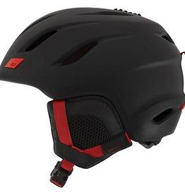 Giro Nine Matte Black/Bright Red
