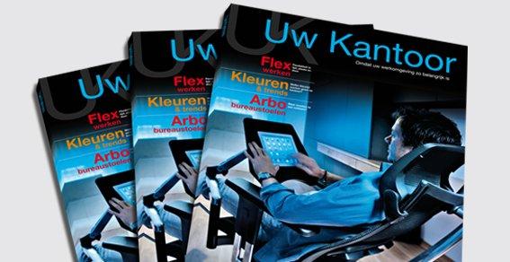 Inofec magazine 'Uw Kantoor'